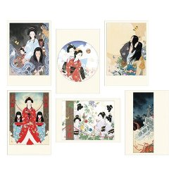"Photo1: CARD SET  OF Takato Yamamoto ""Tale of a Castle keep"""